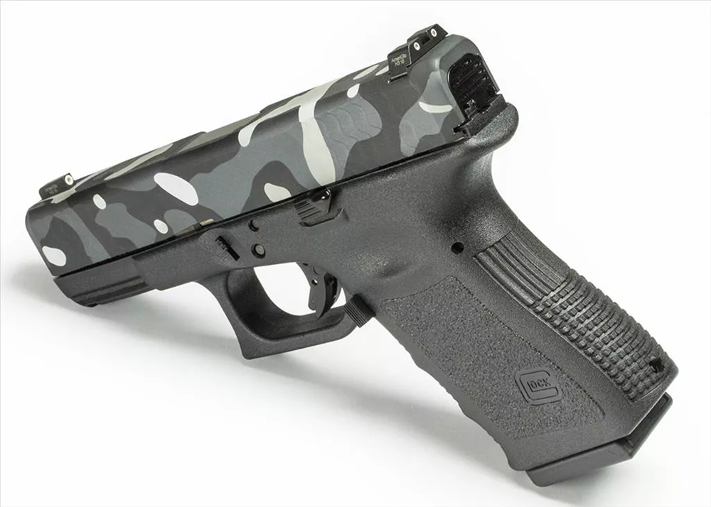 Complete Grey Man Gun with Battlecam Black finish